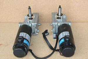 PAIR Left/Right Motors Gearbox for Quantum 600, 610 & R-4000 Power Chairs