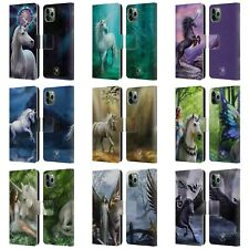 ANNE STOKES MYTHICAL CREATURES LEATHER BOOK WALLET CASE FOR APPLE iPHONE PHONES