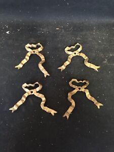 "4 3 3/4"" Metal Bows Pediments"