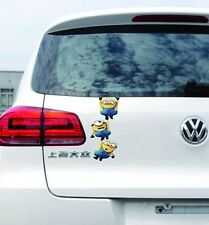 Sticker Stylish Car Decal Graphics Sticker - MINIONS - Hanging Gang
