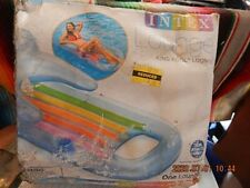 "Intex King Kool Lounge - inflatable - NIB 63"" x 33 1/2"""