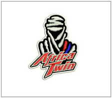 """HONDA Africa Twin embroidered 4"""" 10cm patch XRV650 XRV750 CRF1000L biker leather"""