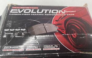 For Mercedes-Benz C250 10-15 Brake Pads Power Stop Z23 Evolution Sport