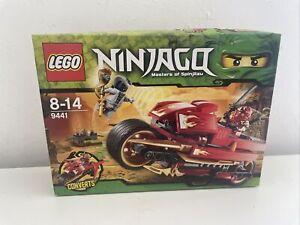 Lego Ninjago set 9441 Kais Blade Cycle NEW & Sealed Retired Set RARE