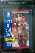 1991 FLEER #211 MICHAEL JORDAN ALL STAR CHICAGO BULLS HOF PACK FRESH MINT