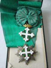 Italy GOLD Order of Lazarus and Mauricio , GRAND CROSS , 1st class !