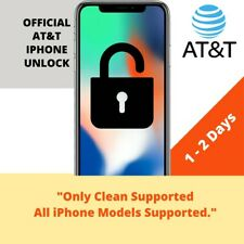 FACTORY UNLOCK SERVICE FOR AT&T IPHONE 11 11PRO XS XR X 8 8+ 7 6 CLEAN IMEI FAST