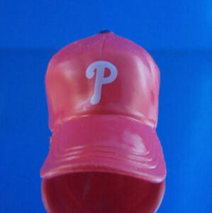 """PHILADELPHIA PHILLIES MINI TEAM CAP HAT 2"""" LONG NEW MLB LICENSED GIFT CHARM"""
