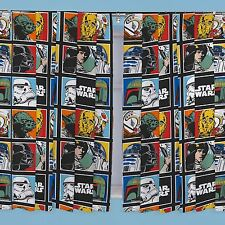 "STAR WARS 66"" x 72"" CURTAINS NEW KIDS BEDROOM matches duvet"