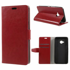 Housse pour HTC U11 Life rouge ouverture portefeuille