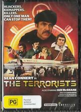 THE TERRORISTS - SEAN CONNERY - REGION 4 NEW & SEALED DVD- FREE LOCAL POST