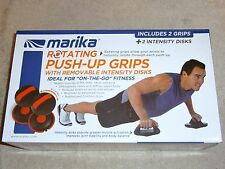 Marika Rotating Push Up Grips w/ Removeable Intensity Discs New