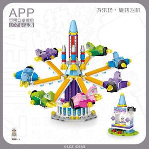 LOZ Amusement/Theme Park Rotating Plane Mini Building Blocks (361 Pcs) 1719