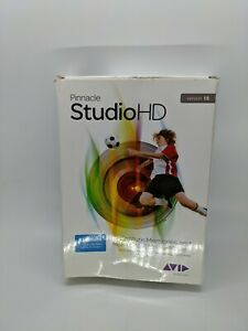 Pinnacle studioHD VERSION.15 DVD Video, For HD Editing,share To YOU TUBE Etc