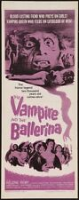Vampire And The Ballerina The 14x36 Insert Movie Poster Replica