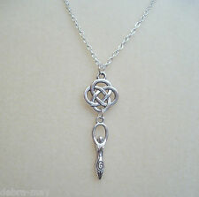 Celtic knot Earth Mother Goddess Ciondolo Collana-pagane wicca