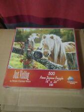 Just Visiting 500 Piece Jigsaw Puzzle Sunsout