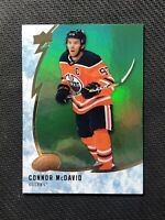 2019-20 UPPER DECK ICE CONNOR MCDAVID GREEN EMERALD #48