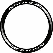DURA ACE C50 2014 RIM DECAL SET  FOR TWO WHEELS