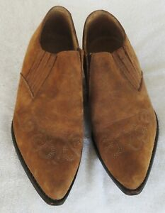 Vintage George's Marciano By Guess Women's Ankle Western Booties Size 6.5 M