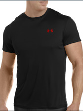 Under Armour Men's Heat Gear Fitted Flyweight Crewneck T-Shirt Small Black Nwt