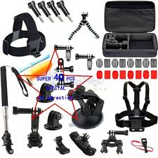 40-in-1 Outdoor Sport Camera Accessory Kit for GoPro Hero 3+ 4 Xiaomi Yi