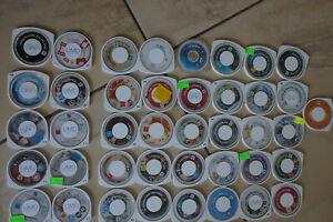 PSP Spiele und UMD Sammlung  41Stück!!