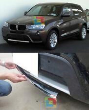 BMW X3 F25 2010-2014 MODANATURA ANTERIORE CROMATURA ADESIVA SOTTO PARAURTI INOX