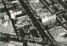 1964 Foster Aerial Photo BEVERLY HILLS Canon Dr WARNER THEATRE BEKINS 16x20 W7