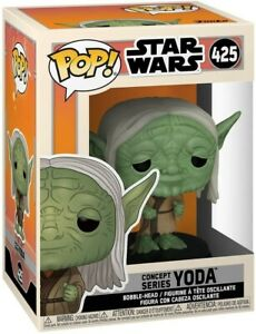 Funko - POP Star Wars: Star Wars Concept - Yoda Brand New In Box