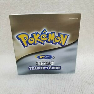 ⭐Pokemon Gold Version Nintendo GameBoy Color Trainer's Guide ONLY! NO GAME!⭐👀
