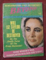 BEYOND magazine June 1969 Reincarnation Ghosts Fantasy Krupp Diamond Curse