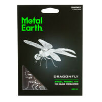 Fascinations Metal Earth Insect Dragonfly 3D Laser Cut Steel Model Kit MMS064