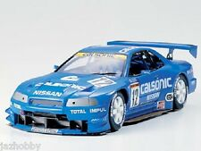 Tamiya 24219 1/24 Scale Model Sport Car Kit Calsonic Nissan Skyline GT-R R34 99