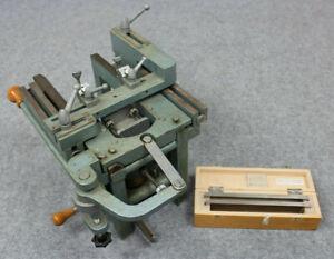 Schlittenmikrotom Jung Heidelberg Tetrander II * Antique Solid Sliding Microtome