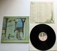 Genesis - Trespass German Reissue Charisma Mad Hatter Label LP + Insert