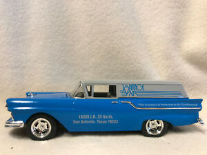 Spec Cast 296000 1957 Ford Hot Rod Sedan Delivery Bank