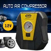 Électrique Mini Voiture Camion Tire Pneu Gonfleur Pompe Compresseur Air 12V