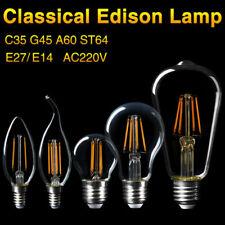 E27 E14 LED Lights Filament COB Edison Bulbs Energy Saving Glass Lamp 220V 4-16W