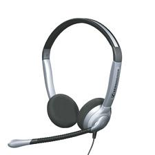 Sennheiser Binaural Headset - Silver/Black SH 350 - Phones, PC, Laptop