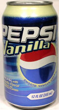 EMPTY UNOPEN 12oz 355ml Old Style Can American Pepsi Vanilla Ltd. Ed. USA 2006