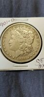 1901-O Morgan Silver Dollar 'Cleaned'