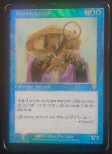 Voyant aveugle PREMIUM / FOIL VF - French Blind seer - Invasion - Mtg Magic