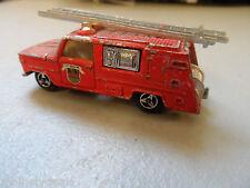 Majorette 1:80 Fire Brigade Truck + Ladder
