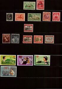 WESTERN SAMOA - Nice Lot of 17 Vintage Stamps - Check out the scans