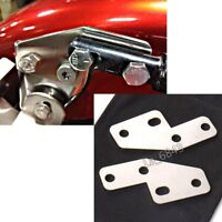 Bagger FL Rear Fender Grab Bar Eliminator Brackets For Harley Touring
