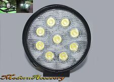 Off Road 4X4 27W 6000K 9 LED Round Flood Work Fog Lights For SUV 4WD Truck
