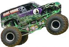 Monster Truck Edible Party Cake Image Topper Frosting Icing Sheet