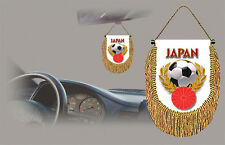 JAPAN SOCCER FLAG CAR MINI BANNER, PENNANT