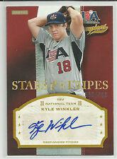Kyle Winkler Arizona 2013 Panini USA Baseball Champions Autograph